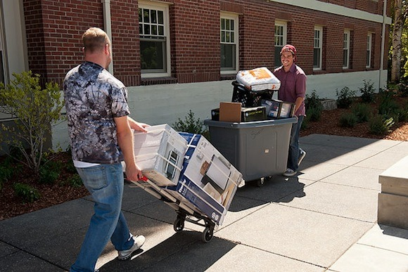 Students Moving Belongings | Self Storage Holden Hill